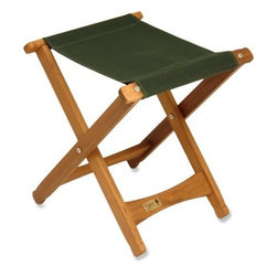 Byer Pangean Folding Stool - Re-cover this folding stool in a fun, bright fabric and use it in the bathroom to hold towels or as extra seating.