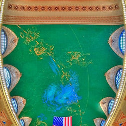 Murals Your Way - Grand Central Ceiling Wall Art - Photographed by Richard Silver, Grand Central Ceiling wall mural from Murals Your Way will add a distinctive touch to any room