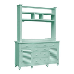 EuroLux Home - New Chest of Drawers Blue Painted Hardwood - Product Details