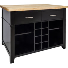 Modern Kitchen Islands And Kitchen Carts by Burroughs Hardwoods Inc.