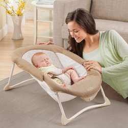 Summer Infant - Summer Infant Resting Up Napper - 91200 - Shop for Baby Bouncers and Jumpers from Hayneedle.com! Provide a portable napping area for your little one with the Summer Infant Resting Up Napper. At a comfy 30-degree incline this must-have napper ensures baby can sleep soundly. Its soothing vibration helps calm baby to sleep while the three-point safety harness and breathable mesh sides make this napper both cool and safe. The perfect addition for traveling it folds easily so baby can nap peacefully anywhere. Requires three AA batteries. For babies 25 pounds or less.About Summer InfantSummer Infant Inc. is passionate about delivering great products for moms dads and caregivers. The company is solely motivated by its mission of delivering the best for you and your baby and the emotional connection you have with your child. Summer Infant's focus is on building a trust with its customers so they know that they are purchasing nothing but the best. Summer Infant continues to lead in categories such as bath gates bedrails monitors infant health and more.