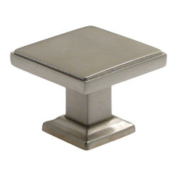 "Rusticware - 992 1 3/8"" Knob - Satin Nickel - This Satin Nickel cabinet knob is a versatile and stylish piece of hardware that will add to the decor of any room in your home. All Rusticware knobs and pulls come with standard 8/32"" screws and screws that are 1/2"" longer to fit most applications."