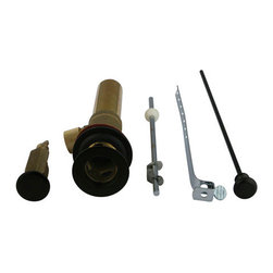 Kingston Brass - Brass Pop-up Drain Assembly - Brass Pop-up Drain Assembly