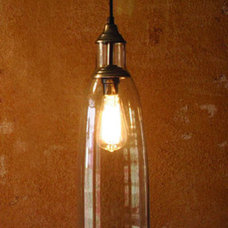 Electric Mini Pendant Lamp W/ Six Inch Diameter Glass Shade Kalalou Cord Mini Pe
