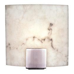 "Minka Lavery - Minka Lavery ML 334 1 Light 8.75"" Width ADA Wall Sconce with Alabaster Dust Shad - Single Light 8.75"" Width ADA Wall Sconce with Alabaster Dust ShadeFeatures:"