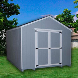 Little Cottage - Little Cottage 12 x 10 ft. Value Gable Precut Storage Shed Multicolor - 10X12 VG - Shop for Sheds and Storage from Hayneedle.com! Additional FeaturesDoor measures 5W x 6H feetDouble door for easy entry and exitSwivel door latchFeatures aluminum corner trimIncludes all fastenersPlenty of headroom A must-have for every home the Little Cottage 12 x 10 ft. Value Gable Precut storage Shed Kit is a classic shed that comes precut and ready to assemble saving you time and energy. Perfect for storing equipment or seasonal items this shed features double doors making it easy to move items in and out of the shed. The trim and siding are 98% primed and the Smartside siding includes a 5 year 50 warranty. You'll have no problem finding plenty of uses for this shed.About The Little Cottage CompanyNestled in the heart of Ohio's Amish country The Little Cottage Company resides in a quaint slow-paced setting where old-fashioned craftsmanship and attention to detail have never gone out of style. Their experienced carpenters and skilled designers take great pride in creating top-quality pre-built models and Do-It-Yourself kits of playhouses storage sheds and more.