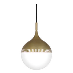 Robert Abbey Jonathan Adler Rio Pendant  Antique Brass - Robert Abbey Jonathan Adler Rio Pendant in Antique Brass.