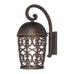 Designers Fountain - Designers Fountain 97593 Single Light Down Lighting Outdoor Wall Lantern from th - Features: