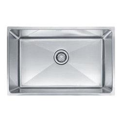 Franke - Stainless Steel Under mount Sink - Franke PSX1102710 Professional Series Single Bowl Undermount Sink