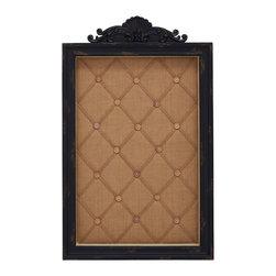 Communicate with Wood Message Cabinet - Description: