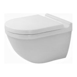 Duravit 2225090000 Starck 3 Wall Mounted Toilet in White -