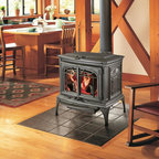Lopi by Travis Industries - Lopi Leyden Wood Stove - Heating Capacity: 2,000 sq ft