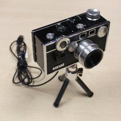 Vintage Webcams - Vintage Argus 35mm camera – The Brick – converted into a HD 720p Webcam