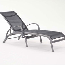 Modern Outdoor Chaise Lounges Modone Single-Chaise Lounge By Koverton