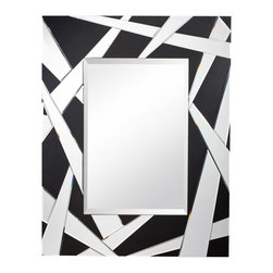 Kichler Lighting - Kichler Lighting 78164 Cutting Edge Mirrors in Black Material (Not Painted) - This Mirror from the Cutting Edge collection by Kichler will enhance your home with a perfect mix of form and function. The features include a Black Material (Not Painted) finish applied by experts. This item qualifies for free shipping!