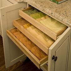 Kitchen Organization: Linen Storage < Organize Your Kitchen - Southern Living
