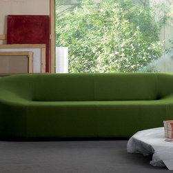 B&T Design - Morph Sofa Three Seater, Oslo Collection Orange 95742 - Morph Sofa Three Seater