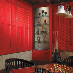 Graber CUSTOM COLOR SHUTTERS - GRABER CUSTOM COLOR SHUTTERS - Windows Dressed Up is a Graber Dealer located in NW Denver, 38th at Tennyson. OUT OF STATE? Please visit our online store for custom drapes, curtains and roman shades. www.ddccustomwindowfashions.com .