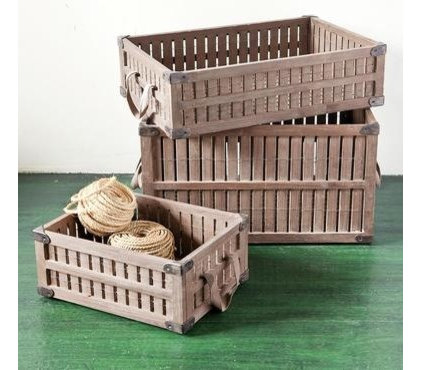 Traditional Storage Boxes by Sundance Catalog