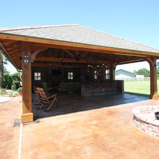 Traditional Patio by Van Alan Homes