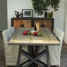 Eclectic Dining Tables by Marco Polo Imports