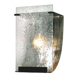 Varaluz - Varaluz 160B01 Rain 1 Light Vanity - Features: