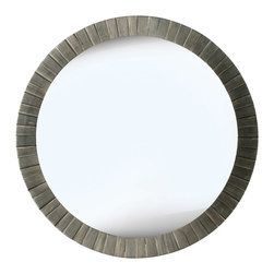 Kenroy - Kenroy 60025 Montgomery Wall Mirror - To add elegance to any space, Montgomery's understated classic design will do the trick.  The layered Antique Silver finish will add a rich luster to your foyer, bedroom or living room.