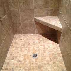 traditional bathroom tile by Total Quality Home Builders, Inc.