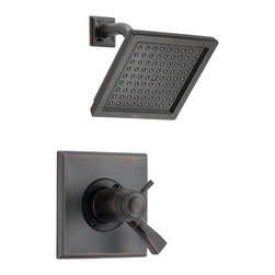 Delta TempAssure(R) 17T Series Shower Trim - T17T251-RB - The clean lines and dramatic geometric forms of the Dryden Bath Collection are based on style cues from the Art Deco period.