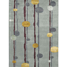 Hand-tufted Lost Wool Rug (5' x 7'6)