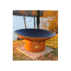 """Fire Pit Art Asia 36"""" Wood Burning Fire Pit -"""