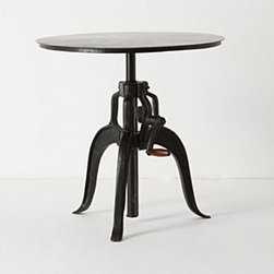 """Anthropologie - Kendall Cafe Table - IronWipe with dry cloth31.5""""H - 43.25""""H, 30.25"""" diameterImported"""