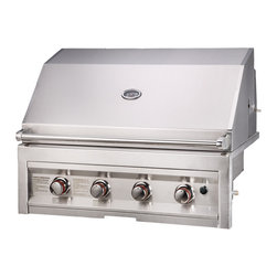 "Sunstone Grills - 4 BURNER W/LIGHTS 28"" - Quick Overview"