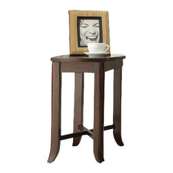 Office Star - INSPIRED by Bassett Bella Side Table in Truffle Finish - Side Table in Truffle Finish belongs to Bella Collection by Ave Six Series   End Table (1)