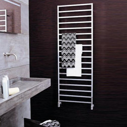Nameeks - Nameeks | Winter Hydronic Towel Warmer - Made in Italy. A part of Scirocco by Nameek's.Keep your towels and bath space warm with the Winter Hydronic Towel Warmer. Crafted from brass and aluminum this wall-mounted, rectangular shaped, warmer can withstand the wear and tear of daily use. It comes with multiple rungs of bars, providing ample space for towels of any size. Product Features: