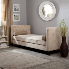 Melrose Daybed- Taupe - Chaise Lounges at Hayneedle
