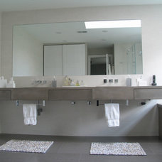 Contemporary Vanity Tops And Side Splashes by JM Lifestyles