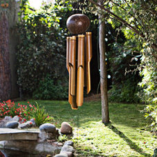 Bamboo 'Natural Small' Wind Chime (Indonesia) | Overstock.com