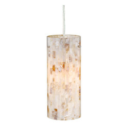 Vascel Milano Mini Pendant Mosaic Shell Glass Satin Nickel PD53204SN - For over 20 years, Vaxcel International has been a premier supplier of residential lighting products. Our product offering is composed of more than 2000 items, ranging from builder-ready fixtures and ceiling fans to designer chandeliers and lamps, in the latest styles and finishes. We are known in the industry for offering a full selection of products at competitive prices. Everyday, we at Vaxcel work hard to be the best business partner to our customers, by providing the best service, quality, and innovation in lighting.