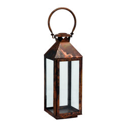 "Riado - Classic Mogador Lantern 7.5 x 21"" BC - Double encased and rounded handles allow comfortable carrying"
