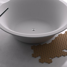 Contemporary Bath Mats by DNA+