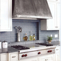 The Metal Peddler, Inc - Metal Range Hood - Metal range hood. First made by us in 2005, this hood has been featured in several magazines, included Better Home and Garden, and Kitchens By Professional Designers.