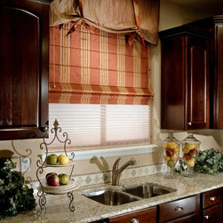 Custom Roman Shades / Blinds - BLACKOUT ROMAN SHADES - www.ddccustomwindowfashions.com -Design your own custom roman shades / roman blinds & side panels for your home with your choice of over 2000 distinctive fabrics, modern styles, and multiple options.