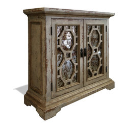 Buffets and Sideboards - Inspired by the old antique shops at a small town in Tuscany, this buffet brings together the purest elements of Tuscan and Old World style and design. Reclaimed and repurposed woods and materials are used in the construction of this piece to complete it's intricate design.