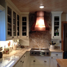 Contemporary Range Hoods And Vents by Texas Lightsmith