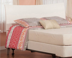 Atlantic Furniture - Atlantic Furniture Soho Twin Headboard in White-Twin - Atlantic Furniture - Headboards - R191822 - The Soho headboard is a curved sleigh style bed with an exquisite finish. The Soho is very rugged and doesnt fall short with its looks.