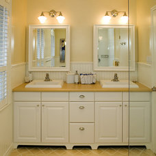 Traditional Bathroom by Avalon Interiors