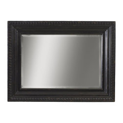Tommy Bahama - Tommy Bahama Kingstown 68 x 44 Fairpoint Wall Mirror - A rich black Tamarind finish and a deep tray design guide the eye to the center bordered with an egg-and-dart pattern.  The Tommy Bahama Furniture brand is legendary for its sophisticated interpretation of inspired island living. We believe that experiencing the casual comfort of the islands should be as easy as walking through your own front door. The Tommy Bahama Home furniture collection of distinctive furnishings evokes a sense of romance and intrigue through the fusion of eclectic design exotic natural materials and rich finishes. We invite you make life one long weekend and capture the essence of resort living with the cool and casual style of Tommy Bahama. Tommy Bahama by Lexington Home Brands is a global manufacturer and marketer of distinctive home furnishings and an industry leader in innovative design and lifestyle marketing. Our award-winning product line of wood and upholstered furniture encompasses a wide range of designs and styles with recognized brands like Lexington Tommy Bahama Sligh Residential products are distributed through independent retailers interior designers design firms and to-the-trade showrooms. We also produce contract and custom contract furnishings for hospitality and commercial use. Tommy Bahama by Lexington Home Brands is headquartered in High Point NC with showroom facilities in High Point and Las Vegas. Founded in 1903 Lexington Home Brands is one of the most respected companies in the industry having built a reputation for design leadership and exceptional value. The company is privately-held by Sun Capital Partners Inc. based in Boca Raton FL. For more information connect with Sun Capital Partners on LinkedIn. Your lifestyle and aspirations for your home are uniquely personal. Tommy Bahama by Lexington Home Brands passion lies in assisting you in creating an environment that brings that vision to life with exceptional styling for every room and lifestyle. W