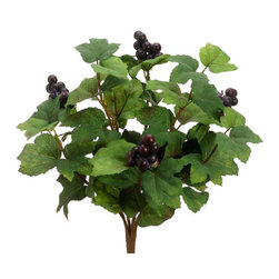 Silk Plants Direct - Silk Plants Direct Grape Leaf Bush (Pack of 12) - Silk Plants Direct specializes in manufacturing, design and supply of the most life-like, premium quality artificial plants, trees, flowers, arrangements, topiaries and containers for home, office and commercial use. Our Grape Leaf Bush includes the following: