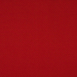 Red Two Toned Dots Upholstery Fabric By The Yard - P5811 is great for residential, and commercial applications. This fabric will exceed at least 35,000 double rubs (15,000 is considered heavy duty), and is easy to clean and maintain.